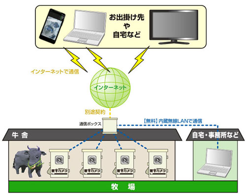 無線LANタイプ利用例